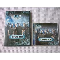 Cpm 22 - Mtv Ao Vivo Dvd E Cd