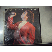 Lp Fábio Jr. - Ao Vivo - 1989 - Original