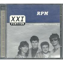Cd-rpm Paulo Ricardo-xxi Vinte E Um-21 Grandes Sucessos-raro