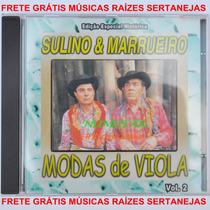 Cd Sertanejo Sulino E Marrueiro Música Herói Sem Medalha