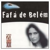 Cd - Fafá De Belém - 20 Músicas Do Século X X - Lacrado