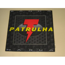 Banda Patrulha - Na Rua - 1994 - C/ Encarte - Lp Vinil