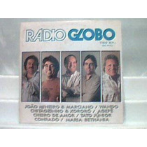 Rádio Globo Am -1100 São Paulo / Lp Philips 1990
