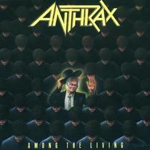 Anthrax - Among The Living Lacrado Importado