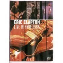 Dvd Eric Clapton - Live In Hyde Park - Usado***