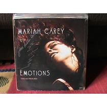 Lp Mariah Carey - Emotions Single 12 Holandes 3 Versoes 91
