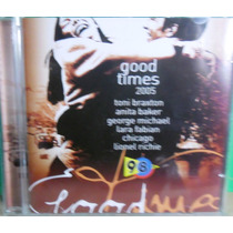 Cd Good Times 2005 - Som Livre Original Lacrado