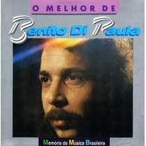 Cd Benito Di Paula - O Melhor De - Frete Gratis
