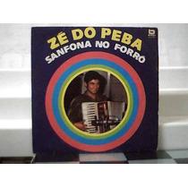 Ze Do Peba Sanfona No Forró / Lp Vinil Beverly 1982
