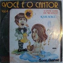 Voce É O Cantor Vol.4 Lp Coletanea
