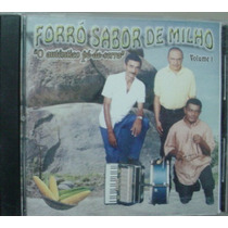 Cd Forró Sabor De Milho - Frete Gratis