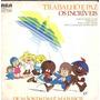 Incríveis Compacto De Vinil Trabalho E Paz - 1976