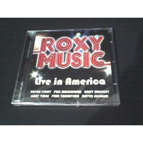 Cd Roxy Music Live In America - Lacrado (original)