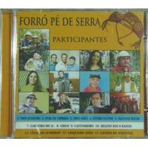 Cd Forró Pé De Serra Trio Juazeiro, Trio Sabiá, Abianto Etc.