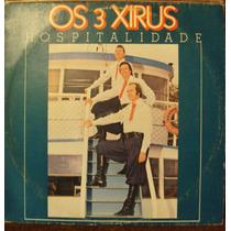 Lp Os 3 Xirus Hospitalidade(frete Grátis)