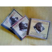 Coleção Songbook Vinícius De Moraes 3 Cds 1ª Ed 1993 Lacrado