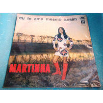 Lp Zerado Martinha Te Amo Mesmo Assim Jovem Guarda 1967 9