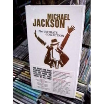 Michael Jackson Ultimate Collection Box 4 Cd´s/dvd Importad