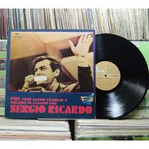 Sergio Ricardo - Piri Fred Cássio Franklin - Lp Continental