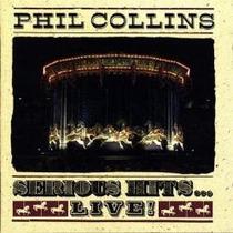 Lp - Phil Collins - Serious Hits - Live (duplo)