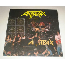 Lp Anthrax - Madhouse ( Single - Japones )