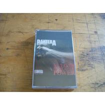 Pantera - Fita K7 (nova Lacrada), Edição 1992