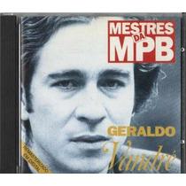 Cd Geraldo Vandré Hora De Lutar 1965 Mestres Da Mpb Lacrado