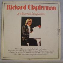 Lp Richard Clayderman - 16 Momentos Inesquecíveis - Cbs 1980