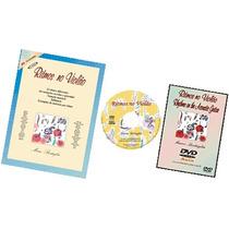 Kit Ritmos No Violão - 64 Batidas No Violão - Livro+cd+dvd