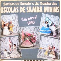 Lp Sambas Enredo E Quadra Escolas De Samba Mirins Carnav. 90