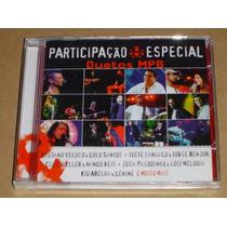 Participaçao Especial Duetos Mpb Cd Novo E Lacrado Original