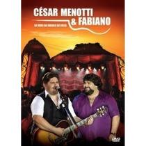 Dvd Cesar Menotti E Fabiano Ao Vivo No Morro Da Urca