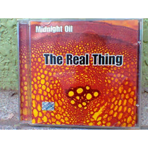 Cd Midnight Oil --- The Real Thing 2000 (frete Grátis)