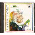Cd Mpb Compositores - Vinicius De Moraes - Novo Lacrado***