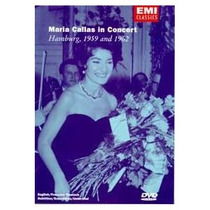 Dvd Maria Callas In Concert - Hamburg 1959 And 1962