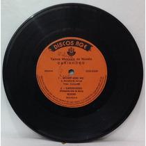 Compacto Vinil Novela Carinhoso - 1973 - Discos Rge