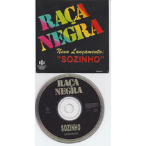 Cd Single Banda Raça Negra - Sozinho Promocional Rge 1996