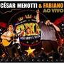 Cd César Menotti & Fabiano / Ao Vivo Voz Do Coração