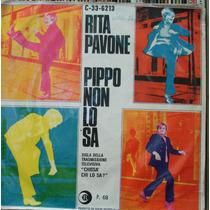 Rita Pavone Pippo Não Sabe - Compacto Vinil Chantecler 1968