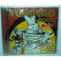 Funk Black Dance Rap Hip Cd Furacão 2000 Mania É O Bicho