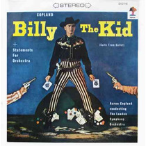 Aaron Copland L.s.o. Lp Billy The Kid/statements For Orchest