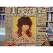 Lp / Compacto - Julia Graciela - Anúncio De Jornal - 1980