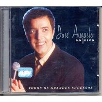 Cd José Augusto - Ao Vivo - 1999