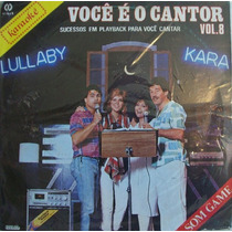 Voce É O Cantor Vol.8 Lp Coletanea