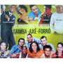 Cd As Novas Caras Da Música Samba - Axé - Forró