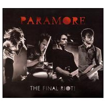 Cd/dvd Paramore - The Final Riot! =import= Novo Lacrado