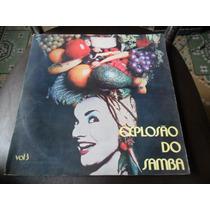 Lp Vinil Explosão Do Samba Vol. 3