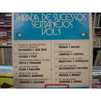 Vinil / Lp - Parada De Sucessos Sertanejo Vol. 1 - 1979