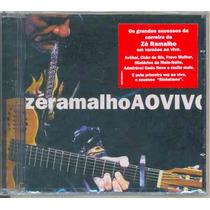 Cd Zé Ramalho - Ao Vivo - 2005 - Lacrado