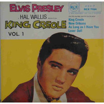 Elvis Presley Compacto Vinil Import King Creole Vol1 Uk 1981